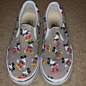 Kids Disney Mickey Mouse vans